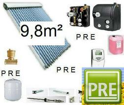 PRE 10 Solaranlage Pufferspeicher 500L 2 WT - Solarheizung - Bild 1