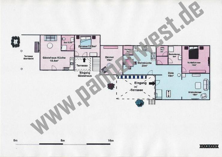 Bild 2: Ebenerdiges, gepflegtes Einfamilienhaus 3,5 km vom Plattensee
