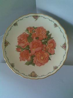 Royal Albert Elizabeth of Glamis Plate by Sara - Geschirr & Wandteller - Bild 1