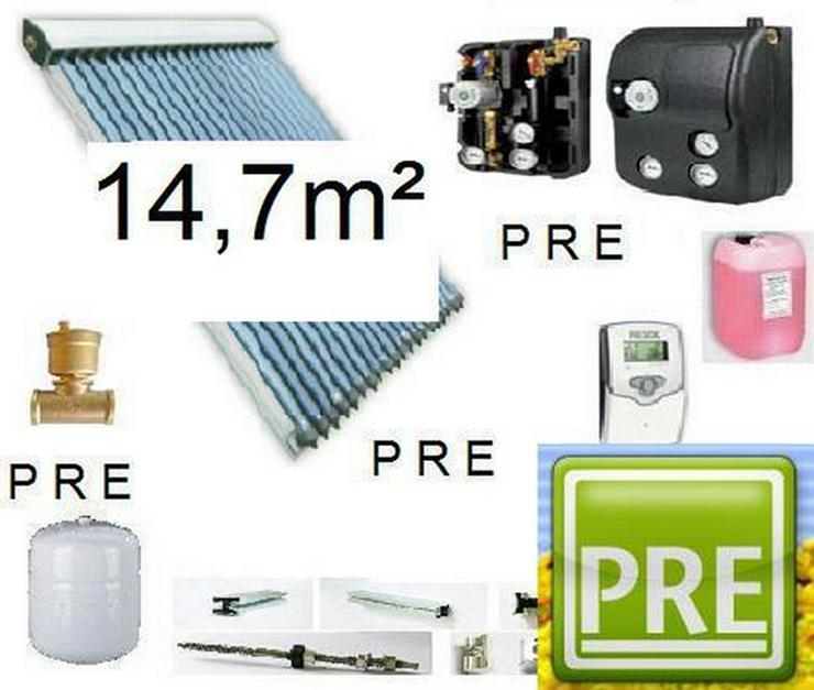 PRE 15 Solaranlage mit Pufferspeicher 800L 1 WT
