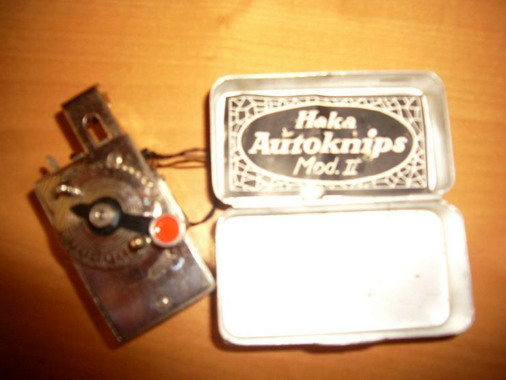 Antiquarischer mechan. Selbstauslöser 1920....