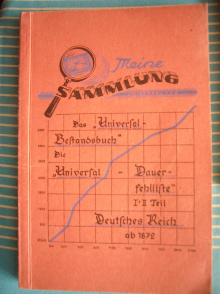 Antiquarische Universal  Dauerfehlliste Deuts - Kataloge & Zubehör - Bild 1