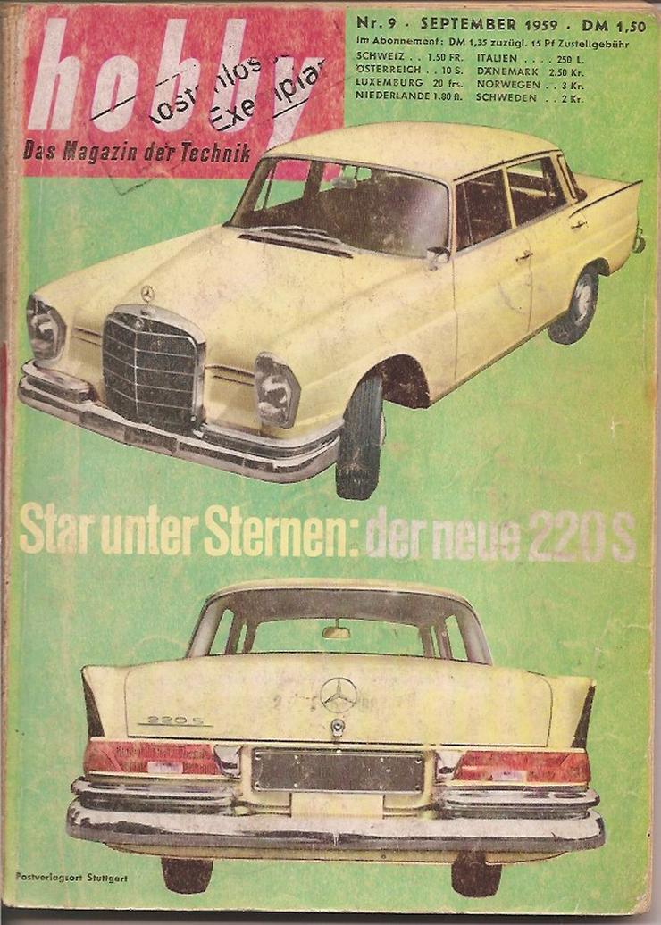 Antiquar. Technikzeitschriften Hobby 11 Stück - Zeitschriften & Zeitungen - Bild 6