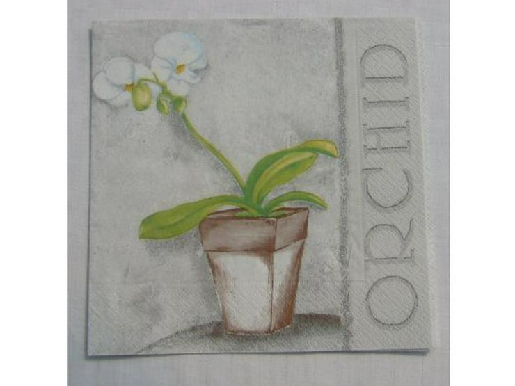 3 Servietten Orchid 118