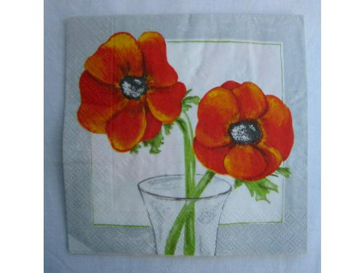 3 Servietten Poppies 047