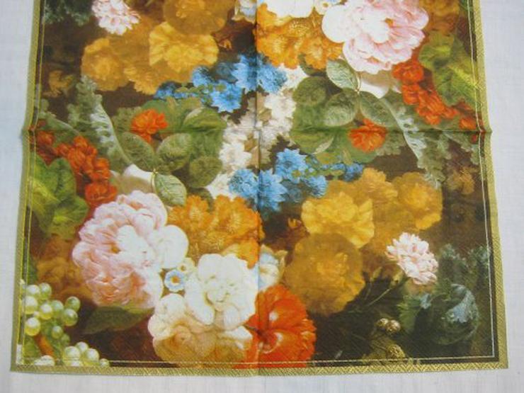 3 Servietten Still live flowers 143