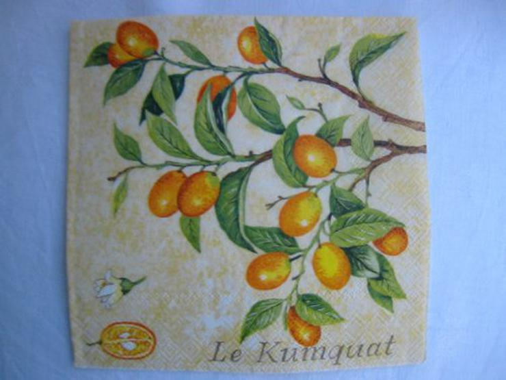 3 Servietten Le Krumquat 022