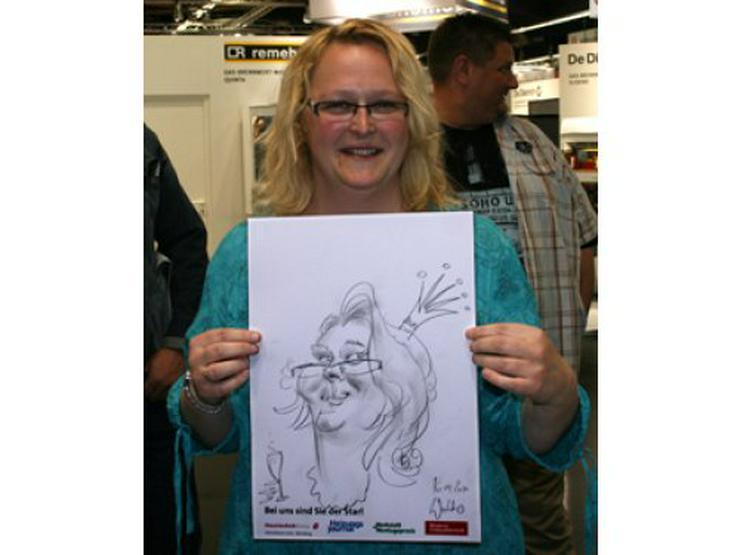 Bild 3: Schnellzeichner und Karikaturist Waldo