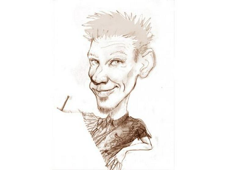Schnellzeichner und Karikaturist Waldo