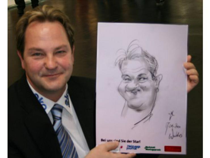 Bild 6: Schnellzeichner und Karikaturist Waldo