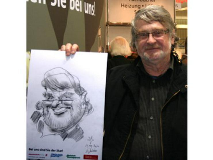 Bild 2: Schnellzeichner und Karikaturist Waldo