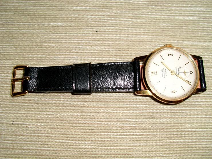 Vergoldete Armbanduhr