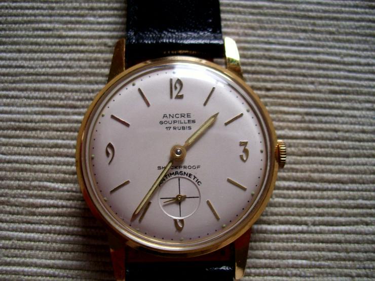 Bild 2: Vergoldete Armbanduhr