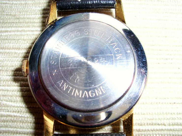 Bild 3: Vergoldete Armbanduhr