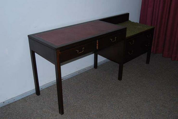 sch ne telefonbank in nussbaum dielen flur in zeuthen auf. Black Bedroom Furniture Sets. Home Design Ideas