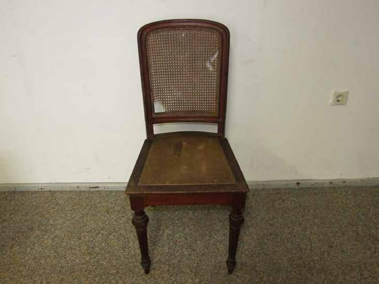 Gründerzeit Stuhl Mit Geflecht / Holzstuhl In   Stühle U0026 Sitzbänke   Bild 1