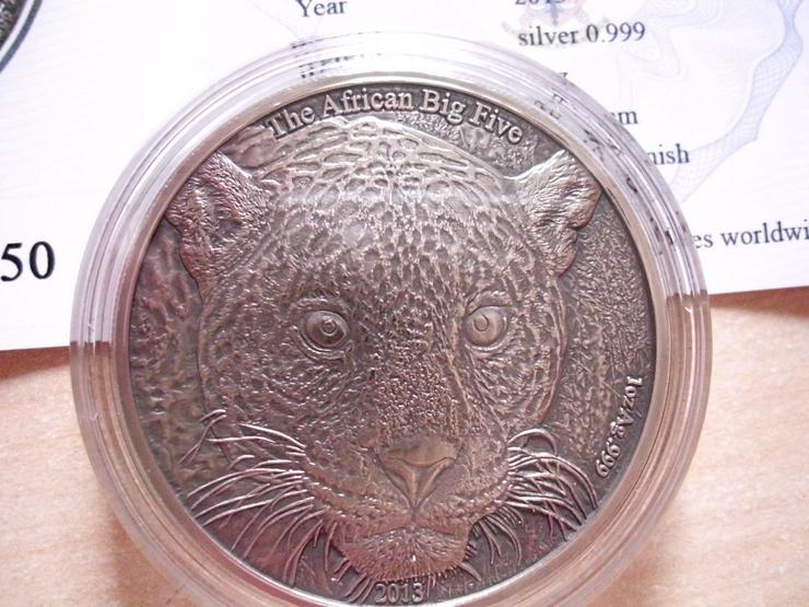 1.000 Francs Afrika Kamerun - Leopard