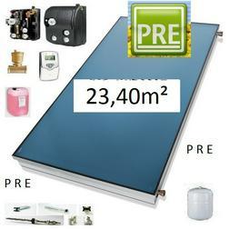 PRE 24 Flachkollektor Solar 5m Solarflexrohr - Gewerbebedarf - Bild 1