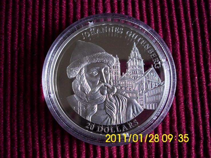 20 $ Silbermünze   Liberia - Weitere - Bild 1