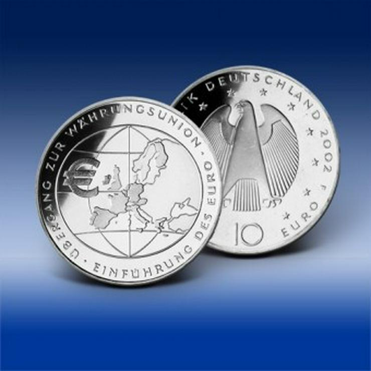 10-Euro-Gedenkmünzen der BRD - Bild 1