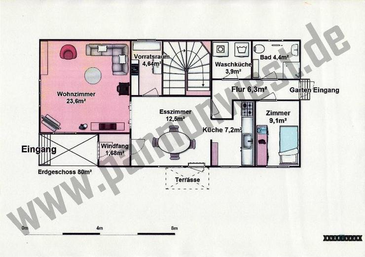Bild 5: Gepflegtes Wohnhaus 8 km zum Balatonsüdufer