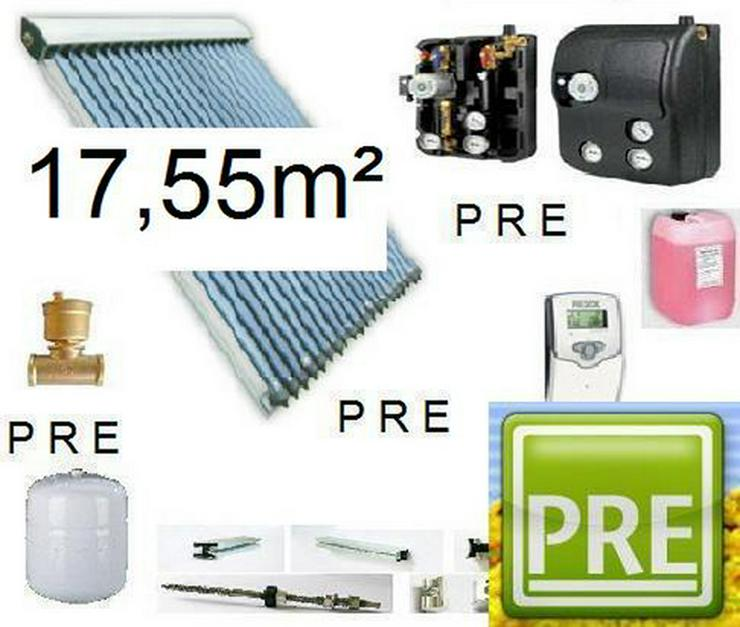 PRE-18 Solaranlage mit Solarflexrohr DN 20, 5m
