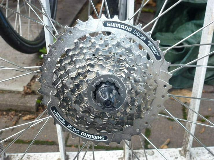 Bild 2: (86) Fahrradfelge 28 Zoll 8 Ritzel neuer Mantel