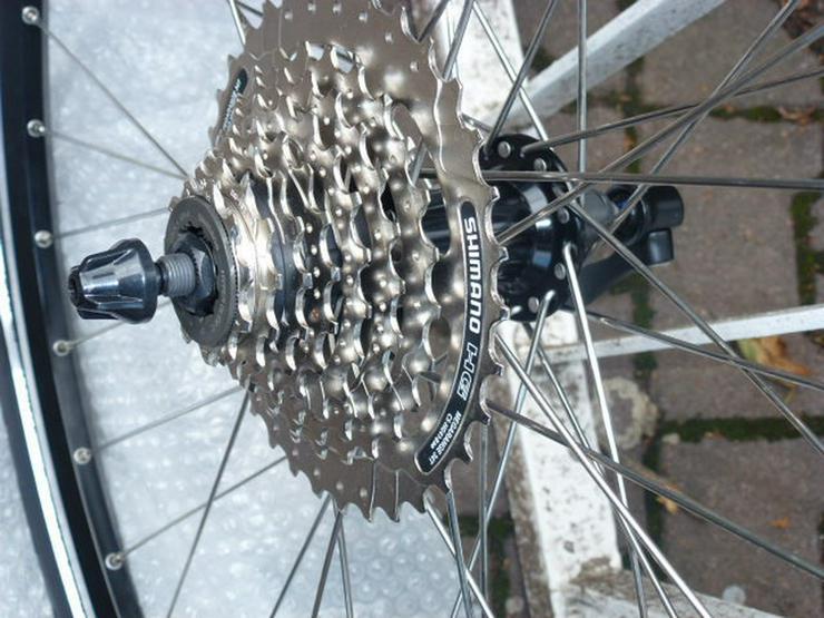 Bild 3: (86) Fahrradfelge 28 Zoll 8 Ritzel neuer Mantel