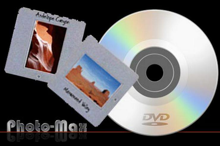 Dia auf CD/DVD - Dia digitalisieren