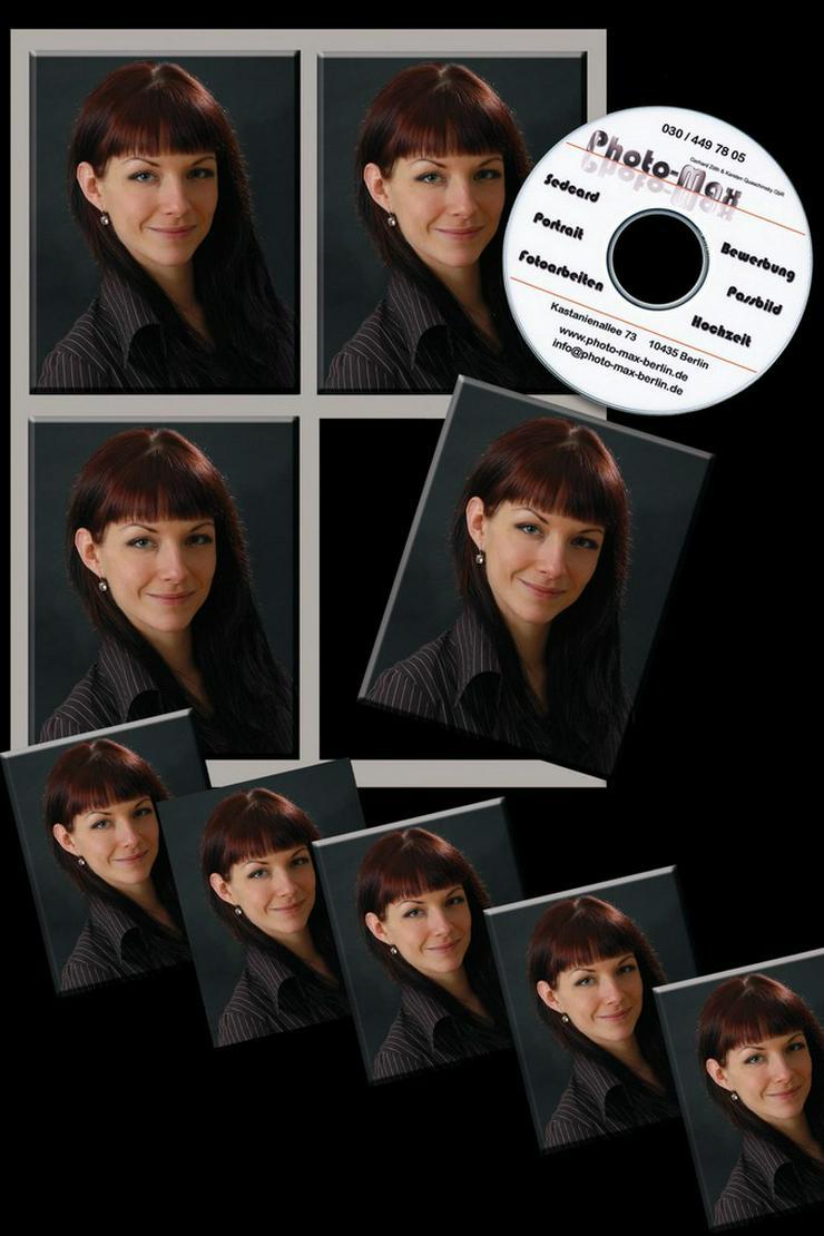 Bewerbungsfotos mit CD Sonderaktion