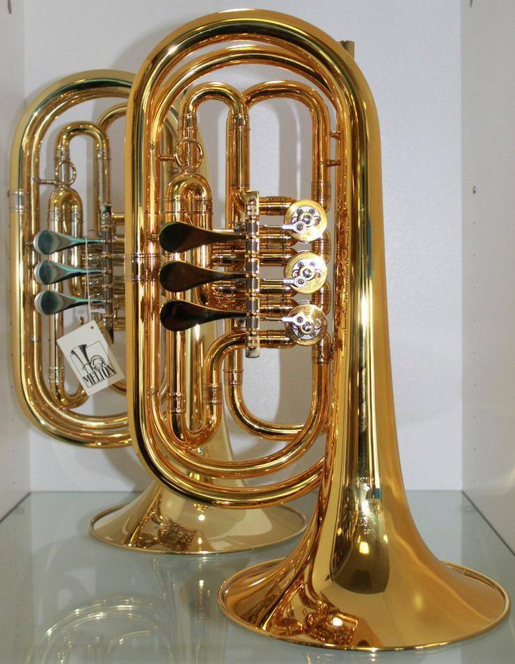 Professionelle Basstrompete in Bb. Melton 129