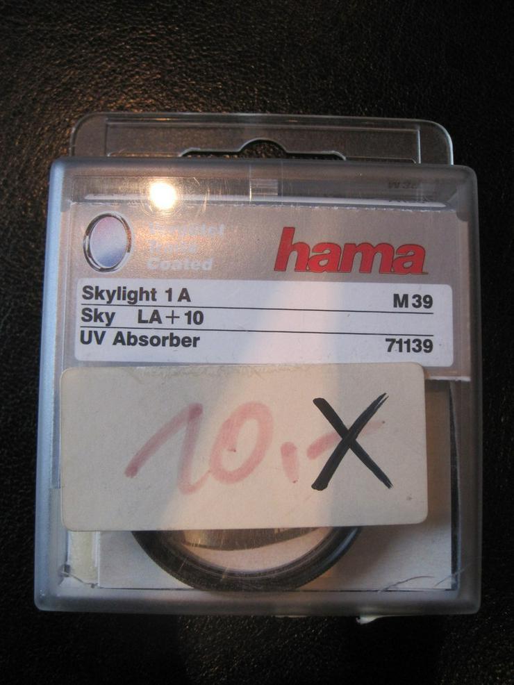 HAMA Skylight 1A M 39 gegen zarten Blaustich