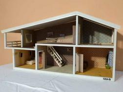 Puppenhaus LISA Made Denmark 70er Ja - Puppenh�user & -m�bel - Bild 1