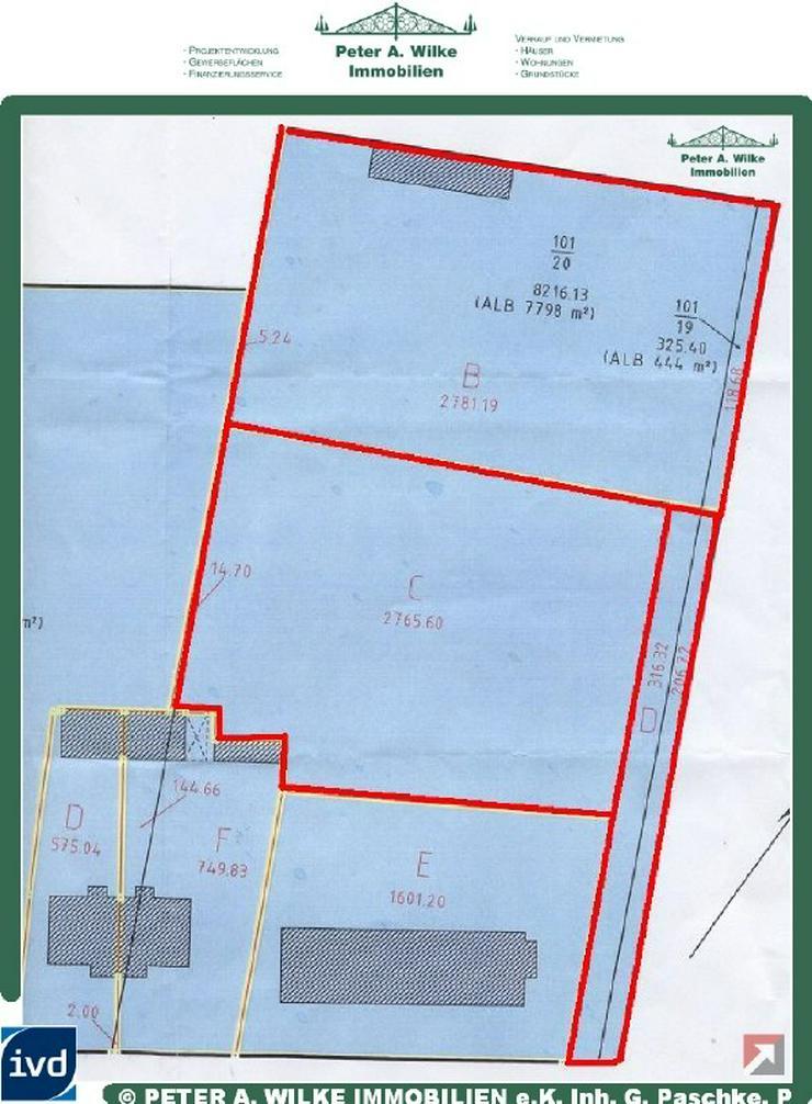 2 GROSSE GRUNDSTÜCKE FÜR WOHNBEBAUUNG ODER GEWERBEANSIEDLUNG - Grundstück kaufen - Bild 1