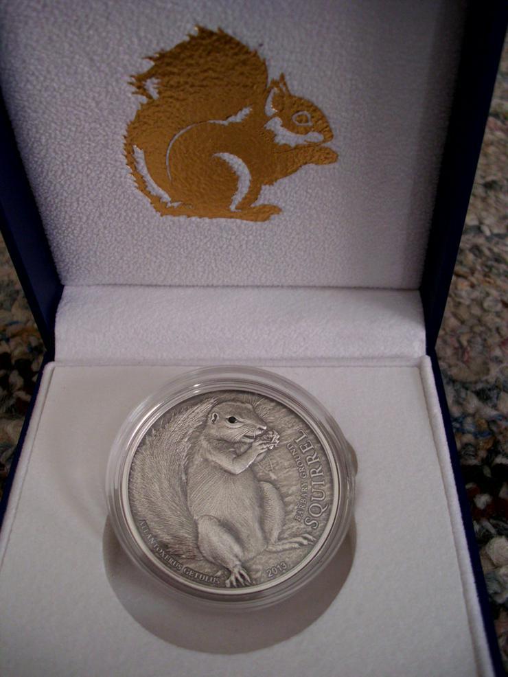 Palau Erdhörnchen 5 Dollar - Weitere - Bild 1