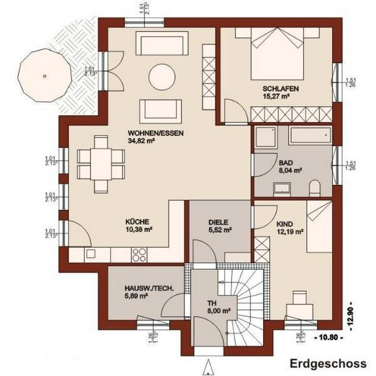 Bild 2: Hier erfüllen Sie sich Ihren eigenen Wohntraum - ein Preis für 2 Familien mit Kind!