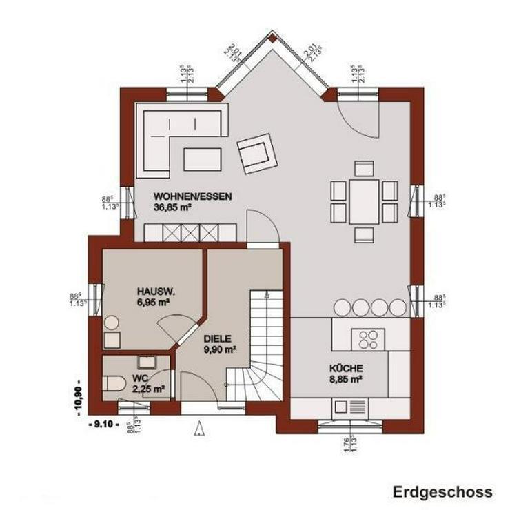 Bild 2: Mit Lifestyle und Ambiente in's Eigenheim!