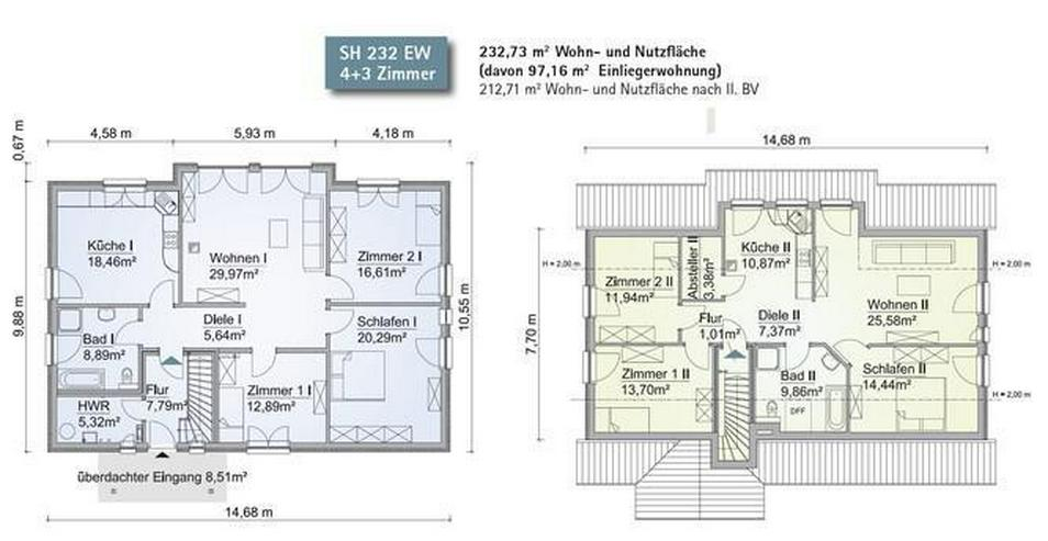2 Familien, ein Zuhause - eintreten und Wohl fühlen! - Haus kaufen - Bild 2