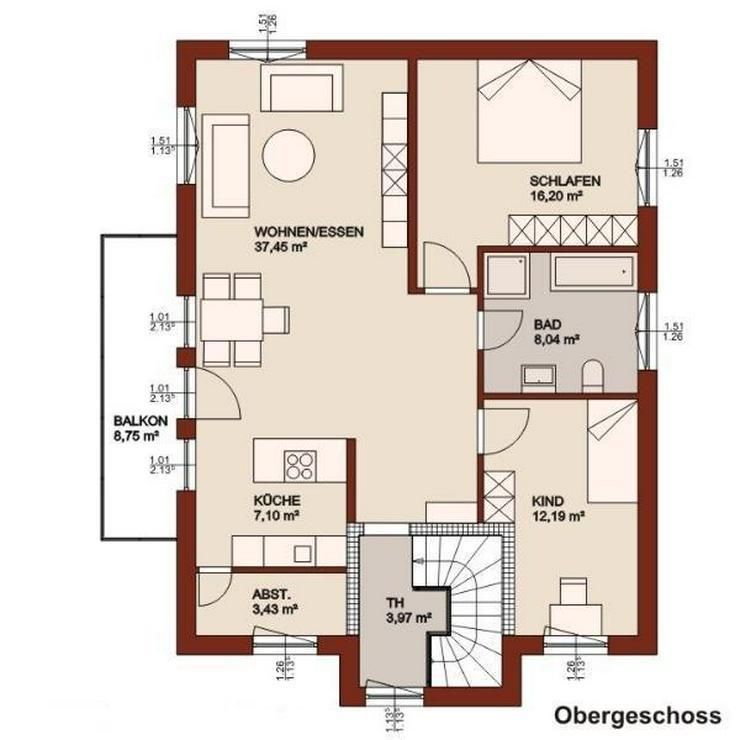 Hier erfüllen Sie sich Ihren eigenen Wohntraum - ein Preis für 2 Familien mit Kind! - Haus kaufen - Bild 3