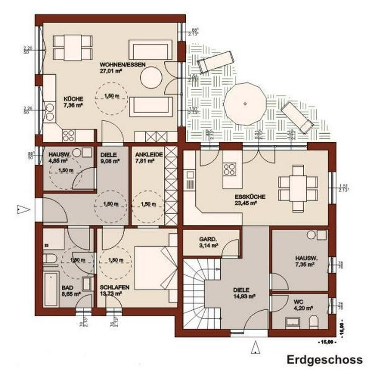Bild 2: Ein Haus, ein Preis, zwei Familien - gemeinsam sparen und Träume verwirklichen!