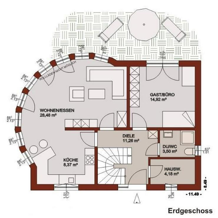 Bild 2: Ein Haus mit Lifestyle und Ambiente - Ihr Traum nimmt gestalt an!