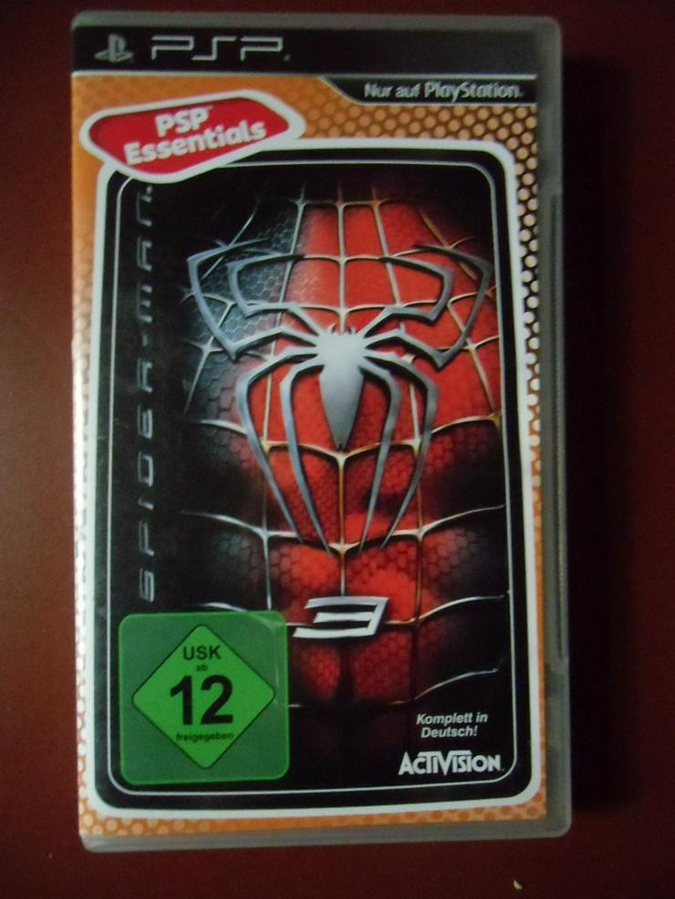 Spider Man 3 (PSP-Spiel, auch zu verschicken)