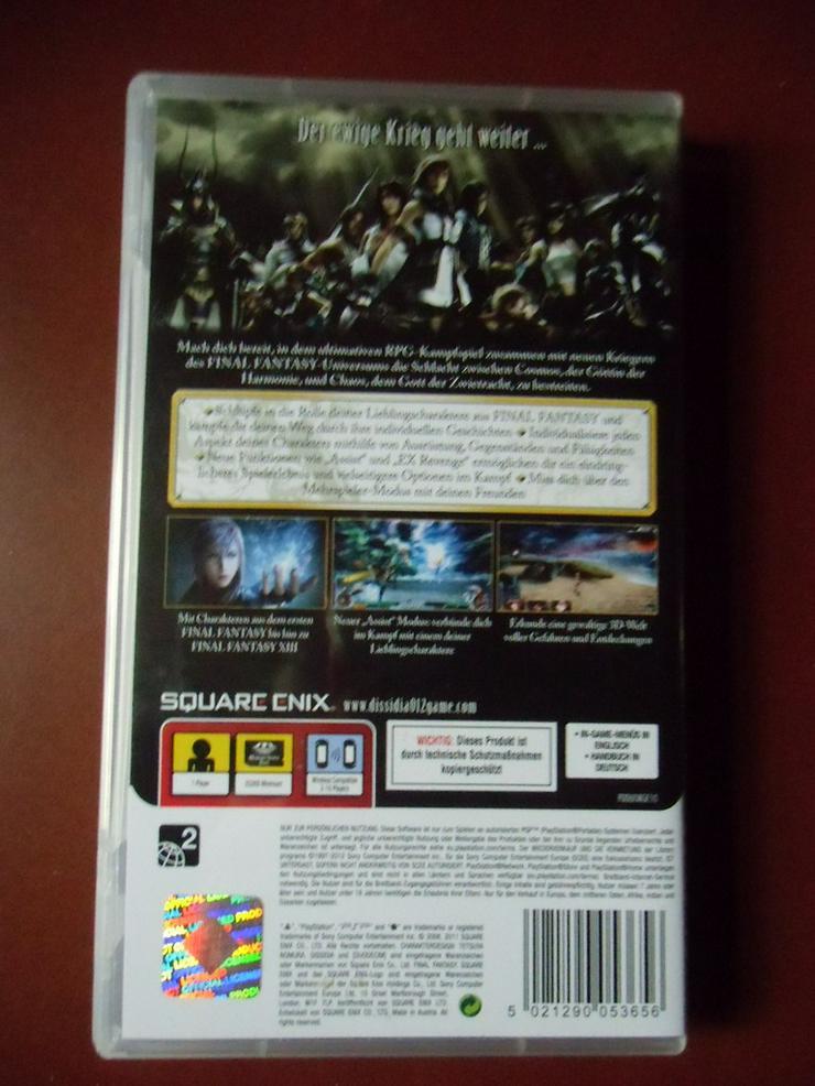 Bild 2: Dissidia 12 (Duodecim) Final Fantasy
