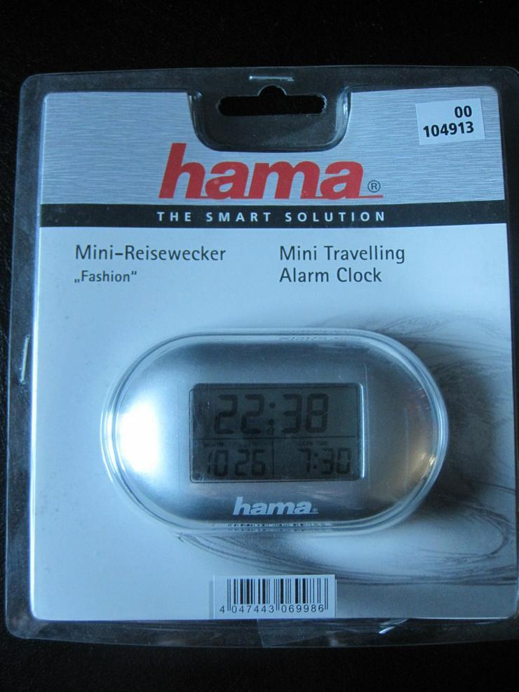 HAMA 104913 Mini-Reisewecker