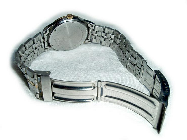 Bild 4: Seltene Herrenarmbanduhr von Dugena