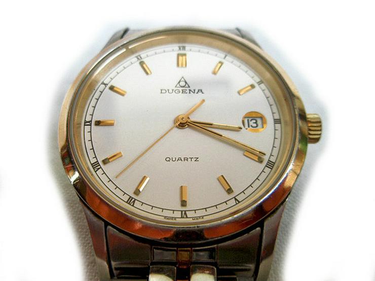 Bild 3: Seltene Herrenarmbanduhr von Dugena