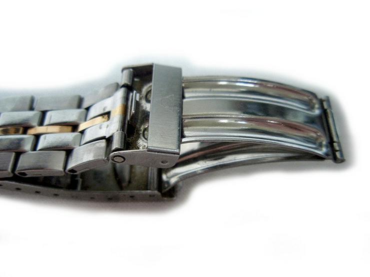 Bild 5: Seltene Herrenarmbanduhr von Dugena