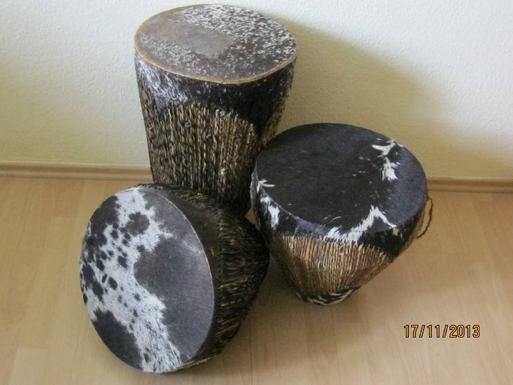 Trommel aus Afrika als Dekoration