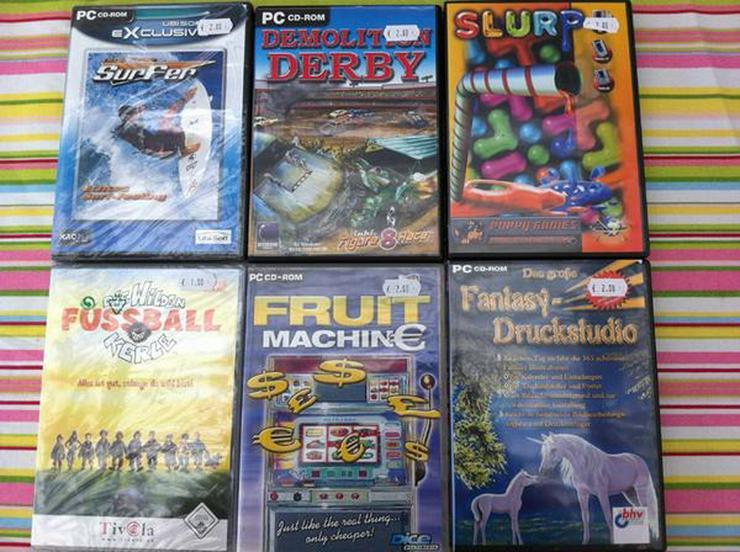 6 PC Spiele - PC Games - Bild 1