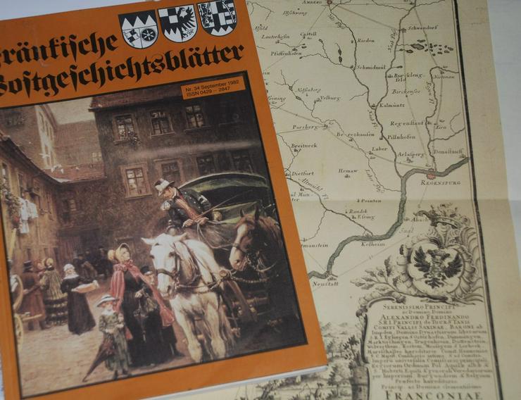 Postgeschichtsblätter fränkische....... - Geschichte - Bild 1